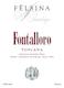 Felsina Fontalloro - label
