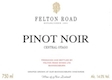 Felton Road Pinot Noir - label