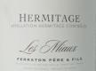 Ferraton Père & Fils Hermitage Ermitage Les Miaux - label
