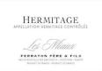 Ferraton Père & Fils Hermitage Ermitage Les Miaux Blanc - label