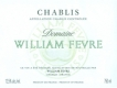 Domaine William Fèvre Chablis  - label