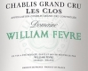 Domaine William Fèvre Chablis Grand Cru Les Clos - label