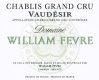 Domaine William Fèvre Chablis Grand Cru Vaudésir - label