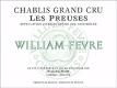 Domaine William Fèvre Chablis Grand Cru Les Preuses - label