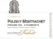 Jean-Philippe Fichet Puligny-Montrachet Premier Cru Les Referts - label