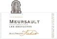 Jean-Philippe Fichet Meursault Les Gruyaches - label