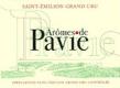 Château Pavie Arômes de Pavie - label
