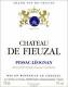 Château de Fieuzal Blanc - label