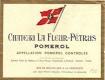 Château La Fleur-Pétrus  - label