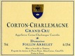 Domaine Follin-Arbelet Corton-Charlemagne Grand Cru  - label