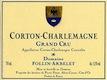 Domaine Follin-Arbelet Corton-Charlemagne Grand Cru  - label