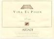 Artadi Rioja Viña El Pisón - label