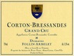 Domaine Follin-Arbelet Corton Grand Cru Bressandes - label