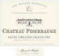 Château Fombrauge  Grand Cru Classé - label