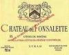 Château de Fonsalette Côte du Rhône Cuvée Syrah - label