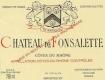 Château de Fonsalette Côte du Rhône Blanc - label