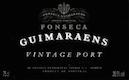 Fonseca Porto Guimaraens Vintage Port - label