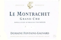 Domaine Fontaine-Gagnard Montrachet Grand Cru  - label