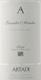Artadi Rioja Grandes Añadas - label