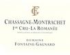 Domaine Fontaine-Gagnard Chassagne-Montrachet Premier Cru La Romanée - label