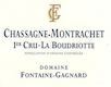 Domaine Fontaine-Gagnard Chassagne-Montrachet Premier Cru La Boudriotte - label