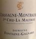 Domaine Fontaine-Gagnard Chassagne-Montrachet Premier Cru La Maltroie - label