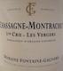 Domaine Fontaine-Gagnard Chassagne-Montrachet Premier Cru Les Vergers - label