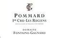 Domaine Fontaine-Gagnard Pommard Premier Cru Les Rugiens - label