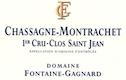 Domaine Fontaine-Gagnard Chassagne-Montrachet Premier Cru Clos Saint-Jean - label