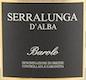 Fontanafredda Barolo Serralunga d'Alba - label