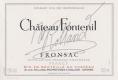 Château Fontenil  - label