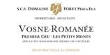 Domaine Régis Forey Vosne-Romanée Premier Cru Les Petits Monts - label