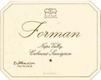 Forman Cabernet Sauvignon - label