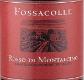 Fossacolle Rosso di Montalcino  - label