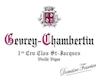Domaine Fourrier Gevrey-Chambertin Premier Cru Clos Saint-Jacques Vieilles Vignes - label