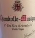 Domaine Fourrier Chambolle-Musigny Premier Cru Les Gruenchers Vieilles Vignes - label