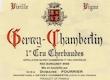 Domaine Fourrier Gevrey-Chambertin Premier Cru Cherbaudes Vieilles Vignes - label