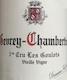 Domaine Fourrier Gevrey-Chambertin Premier Cru Les Goulots Vieilles Vignes - label