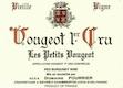 Domaine Fourrier Vougeot Premier Cru Les Petits Vougeots Vieilles Vignes - label
