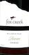 Fox Creek Reserve Shiraz - label