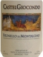 Castelgiocondo Brunello di Montalcino  - label