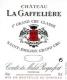 Château La Gaffelière  Premier Grand Cru Classé B - label