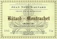 Domaine Jean-Noël Gagnard Bâtard-Montrachet Grand Cru  - label