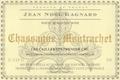 Domaine Jean-Noël Gagnard Chassagne-Montrachet Premier Cru Les Caillerets - label