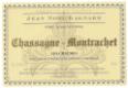 Domaine Jean-Noël Gagnard Chassagne-Montrachet Premier Cru Les Chaumées - label
