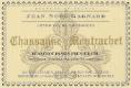 Domaine Jean-Noël Gagnard Chassagne-Montrachet Premier Cru Blanchot Dessus - label