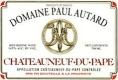 Domaine Paul Autard Châteauneuf-du-Pape  - label