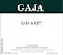 Gaja Langhe Gaia & Rey - label