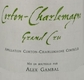 Alex Gambal Corton-Charlemagne Grand Cru  - label