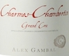 Alex Gambal Charmes-Chambertin Grand Cru  - label